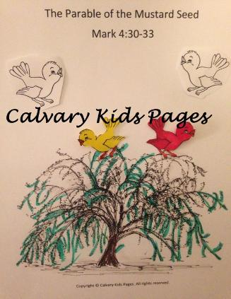 bible lesson for kids on mustard seed